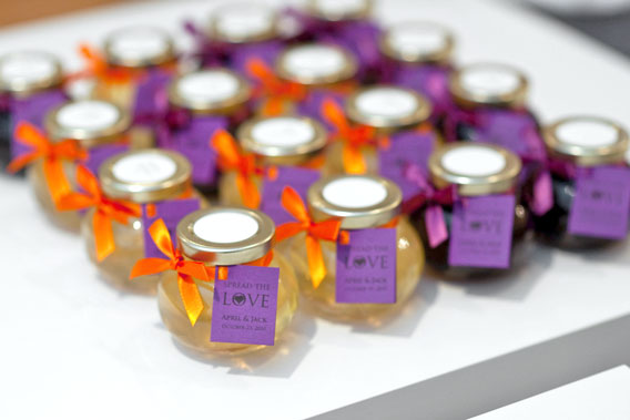 Wine Jelly Wedding Favors